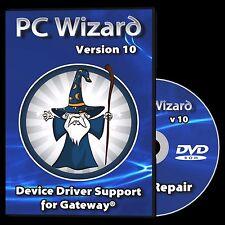 Drivers Restore Recovery Repair for Gateway Laptops Windows 10 8.1 7 Vista XP