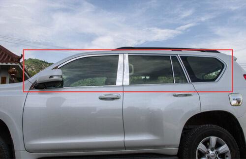 24pcs Full Window Sill Trim with Center Pillar For Toyota Prado Fj150 2010-2016
