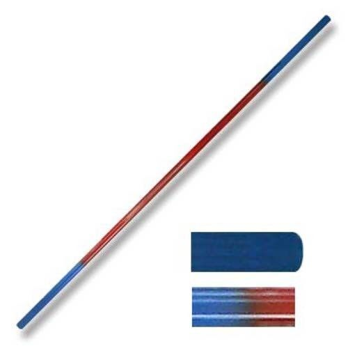 Arts Martiaux Graphite Bo Staff Rouge / Blue Blue / 2 Sectionnel Cure-Dents 183cm 6ft b8e01b
