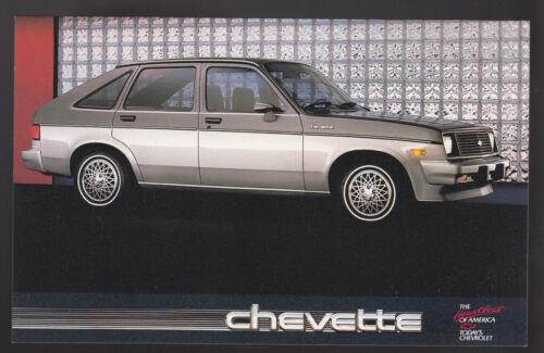 1988 CHEVROLET CHEVETTE 4-Door Hatchback Car Dealer Photo POSTCARD