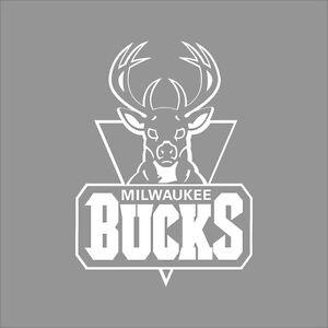 Milwaukee Bucks NBA Team Logo Color Vinyl Decal Sticker Car - Custom vinyl decals milwaukee