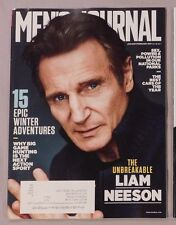 JAN/FEB 2017 MEN'S JOURNAL LIAM NEESON