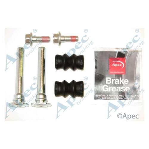 Fits Skoda Fabia 6Y2 1.9 TDI RS Genuine APEC étrier De Frein Guide Sleeve Kit