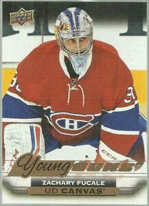 2015-16-UPPER-DECK-SERIES-2-ZACHARY-FUCALE-RC-ROOKIE-YG-YOUNG-GUNS-CANVAS-C214