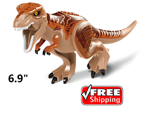 Giant brown T-rax Dinosaurs Figure Building Toy Jurassic World ☀️FAST SHIP☀️