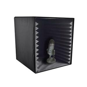 Sound Recording Booth Box Studio Soundproofing Foam Shield Isolation Filter Cube