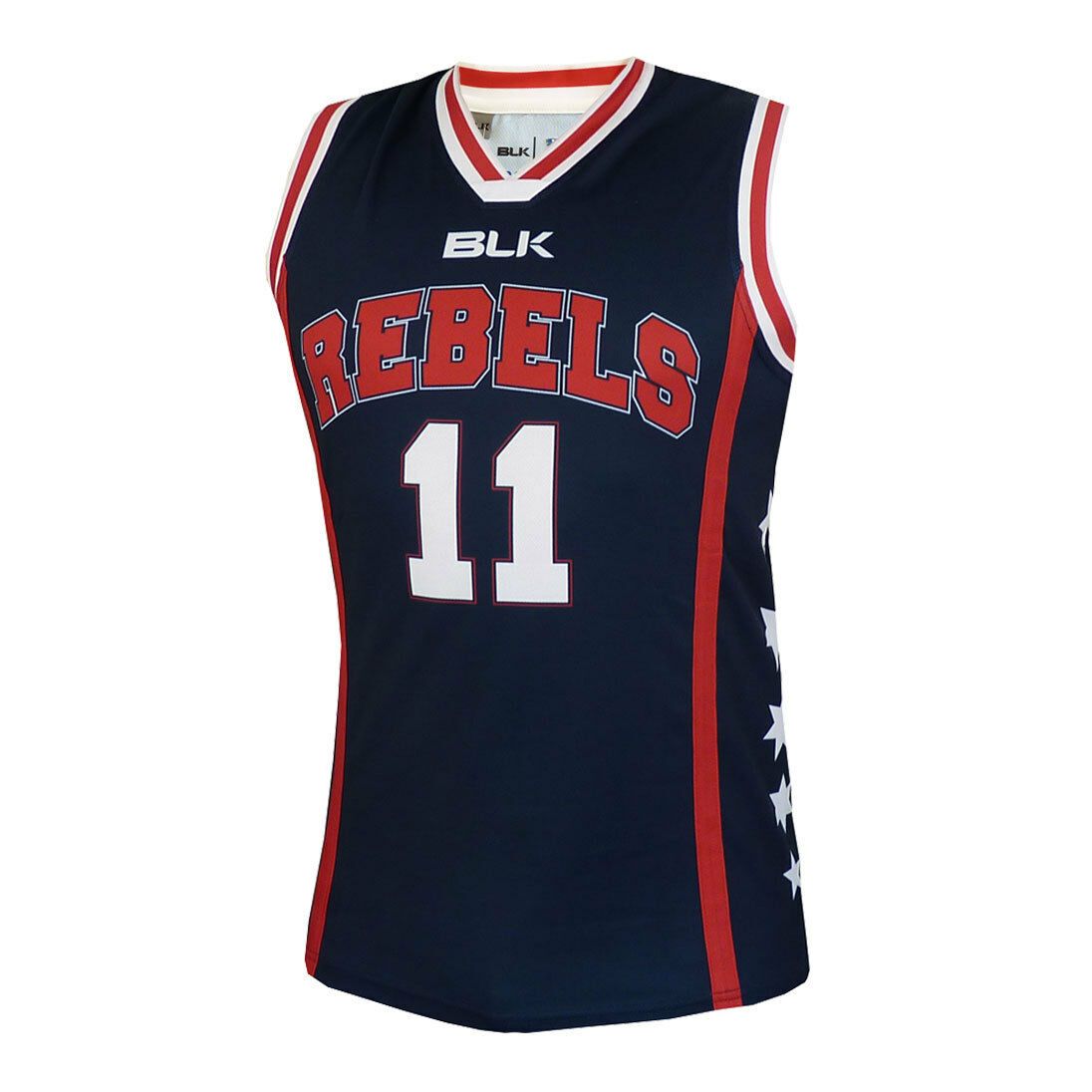 Melbourne Rebels Basketball Singlet  - Sizes XS - 5XL  SALE PRICE