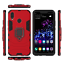 Pour-Huawei-Nova-3-3i-3E-Telephone-Etui-Hybride-Pied-Armure-Robuste-Bague-Porte miniature 8