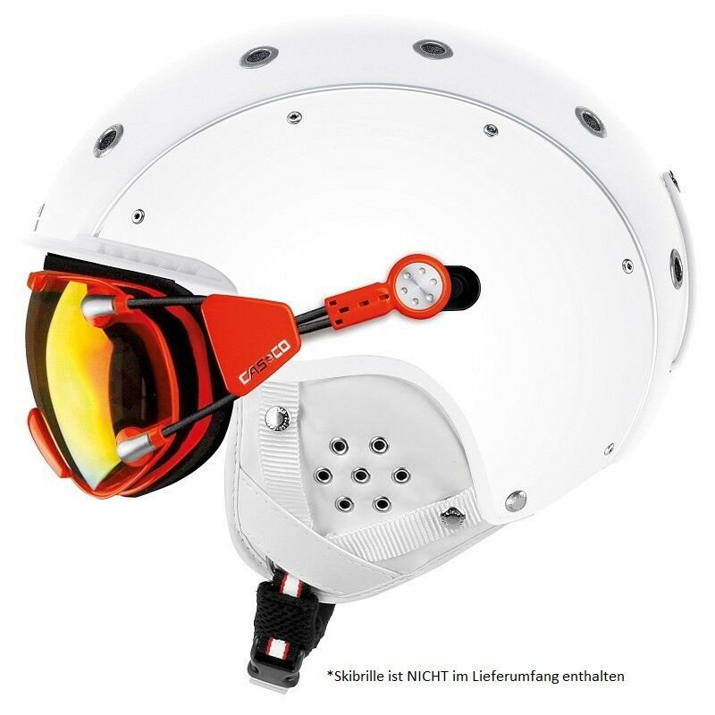 CASCO SP-3 Airwolf white Skihelm Größe 56-58 cm  M  SP3 Airwolf   19.07.2510.M