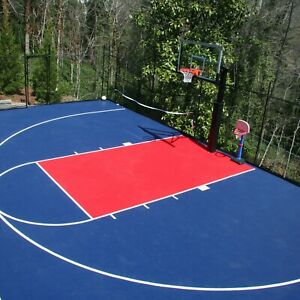 Flooringinc Outdoor Sport Court Tiles 1 X1 Basketball