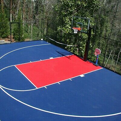 Flooringinc Outdoor Sport Court Tiles 1 X1 Basketball Volleyball Soccer Tennis Ebay
