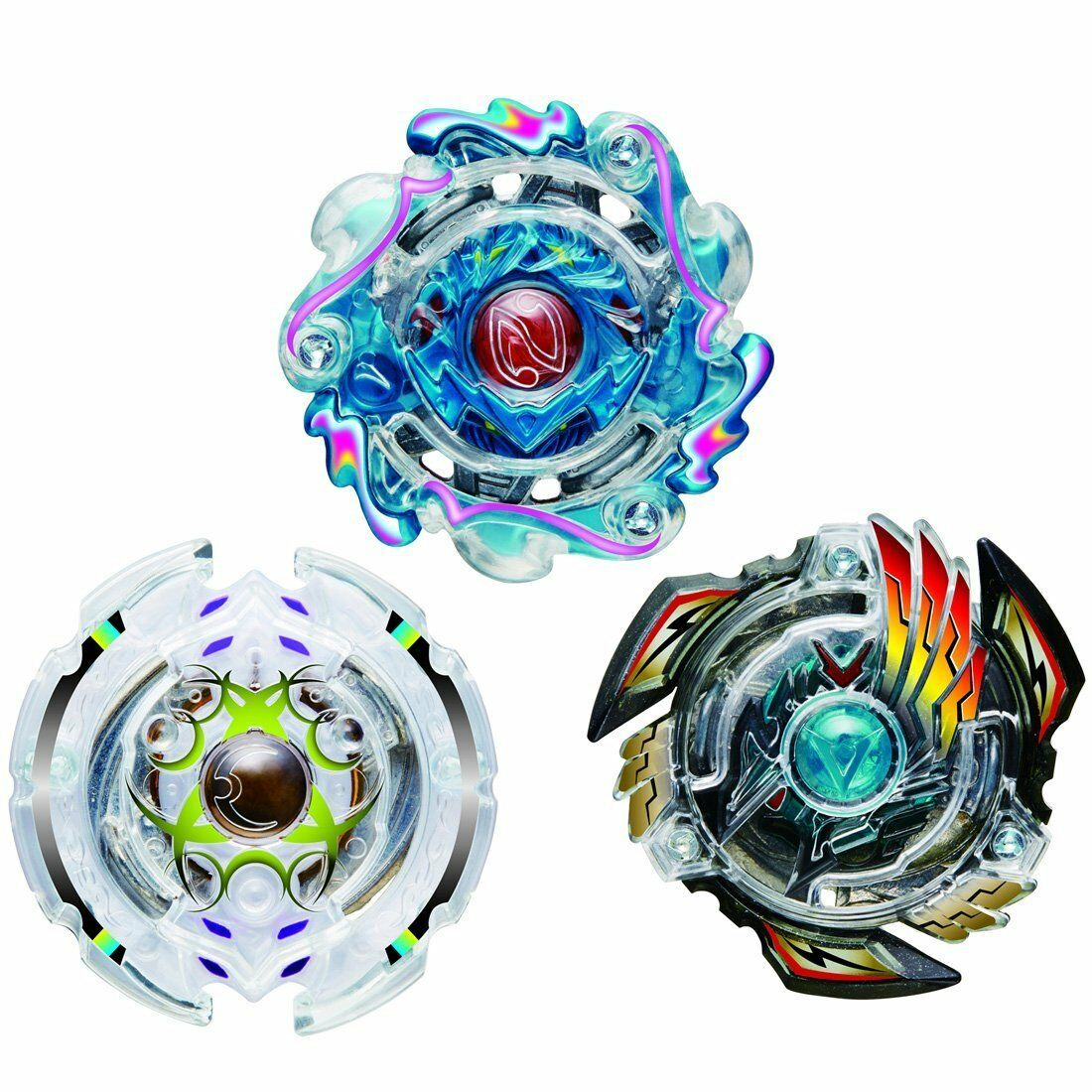 Beyblade Burst B-57 Triple Booster Set TakaraTomy New Japan