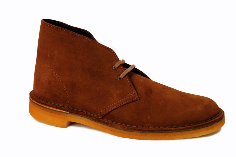 Der Klassiker Clarks Originals The Desert Boot Cola Suede 3 26109086 (4C)