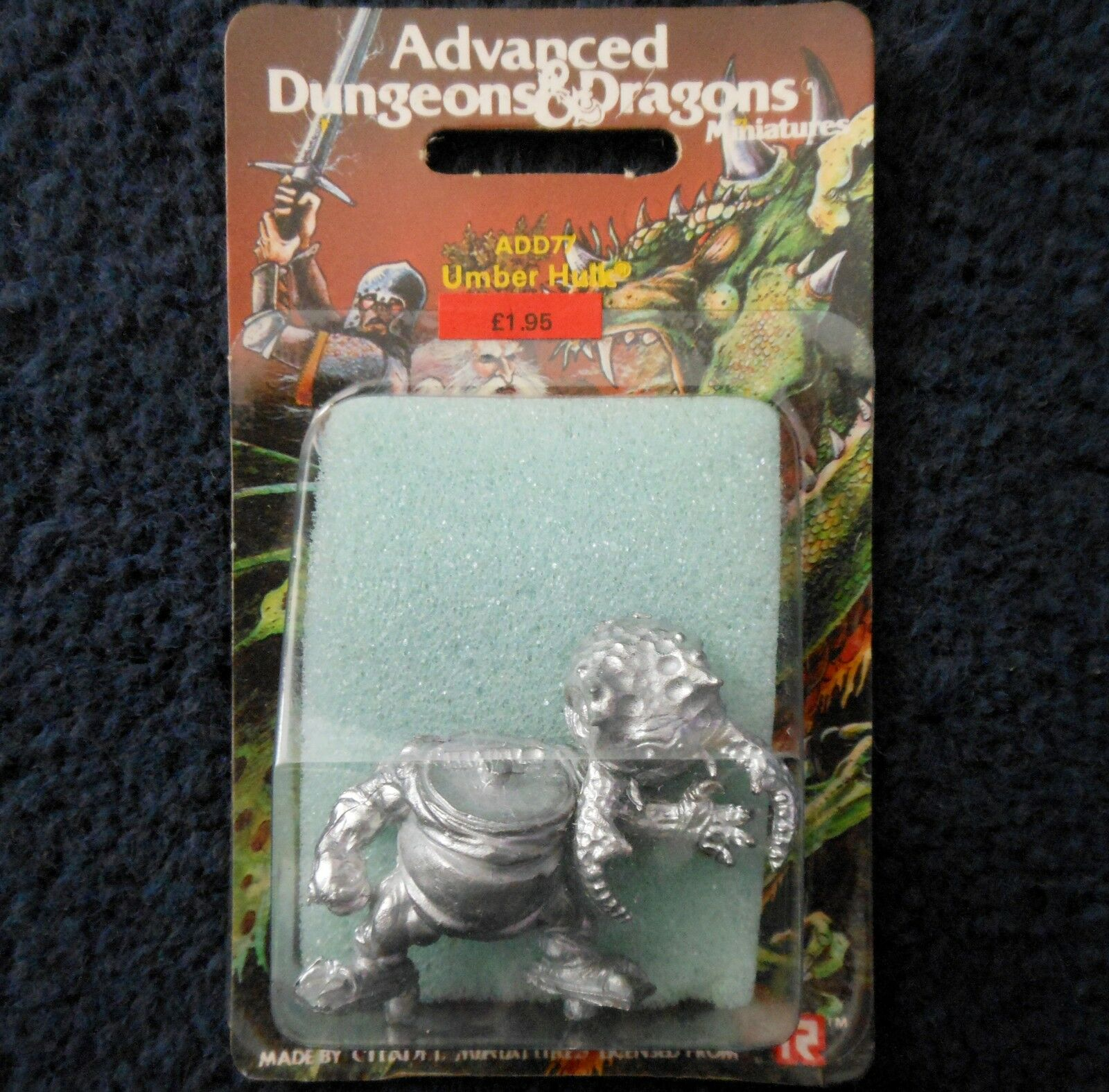 1985 ADD77 Umber Hulk V2 Advanced Dungeons & Dragons Games Workshop AD&D TSR MIB