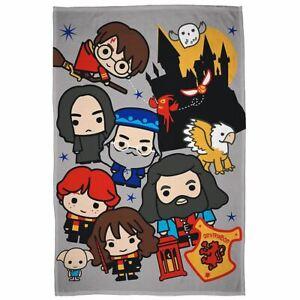 Officiel-Harry-Potter-Breloque-Couverture-Polaire-Chidlrens