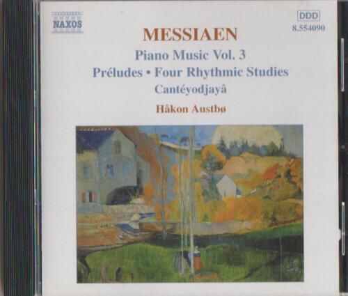 1 of 1 - C.D.MUSIC D192     MESSIAEN : PIANO MUSIC Vol. 3   CD