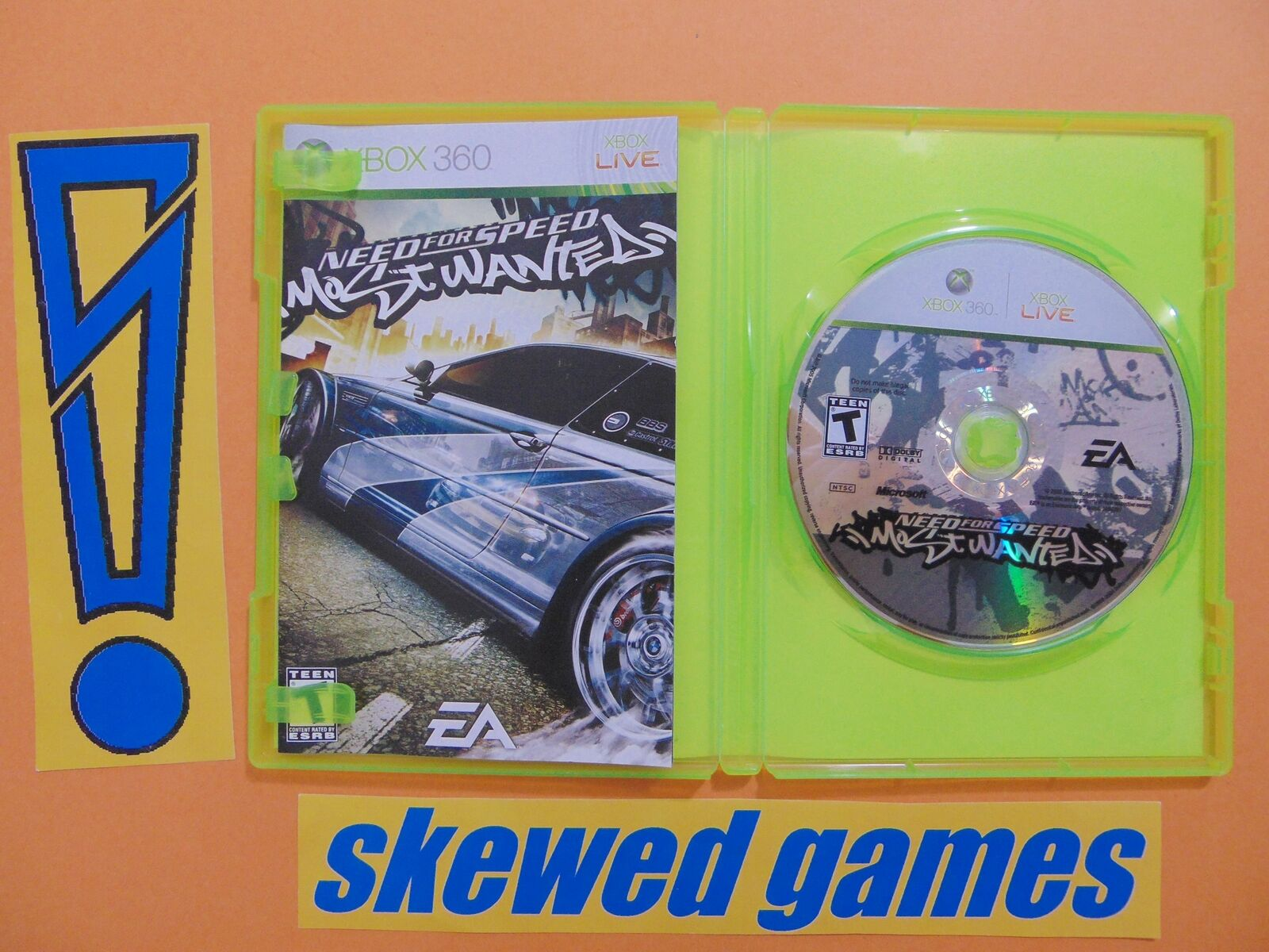 Need For Speed Most Wanted 2005 Cib Xbox 360 Microsoft Ebay