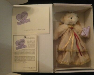 "Rare Collectible Annette Funicello ""angel Above"" Christmas Tree Topper Bear Fragrant Aroma Dolls & Bears"