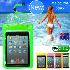 Waterproof Dry Bag Underwater IPad Mini Pouch Case Cover For 7'' inch Tablet PC