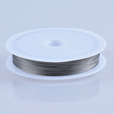 Silver Stainless Steel Tigertail Beading Wire Thread Jewellery Making