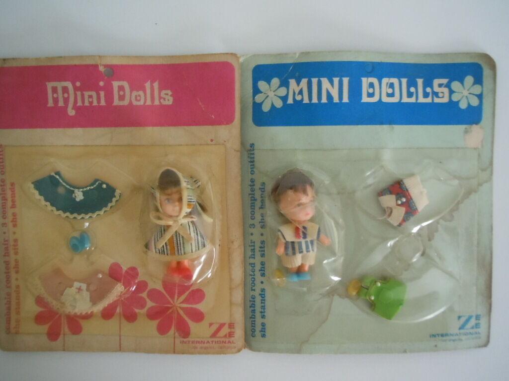 Raro Conjunto Mini Muñecas Kiddle Klone Clone y accesorios  ropa adicional, zapatos, más