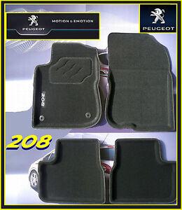 Original-Passform-Fussmatten-Schalenmatten-schwarz-Peugeot-208-OE-1609072080