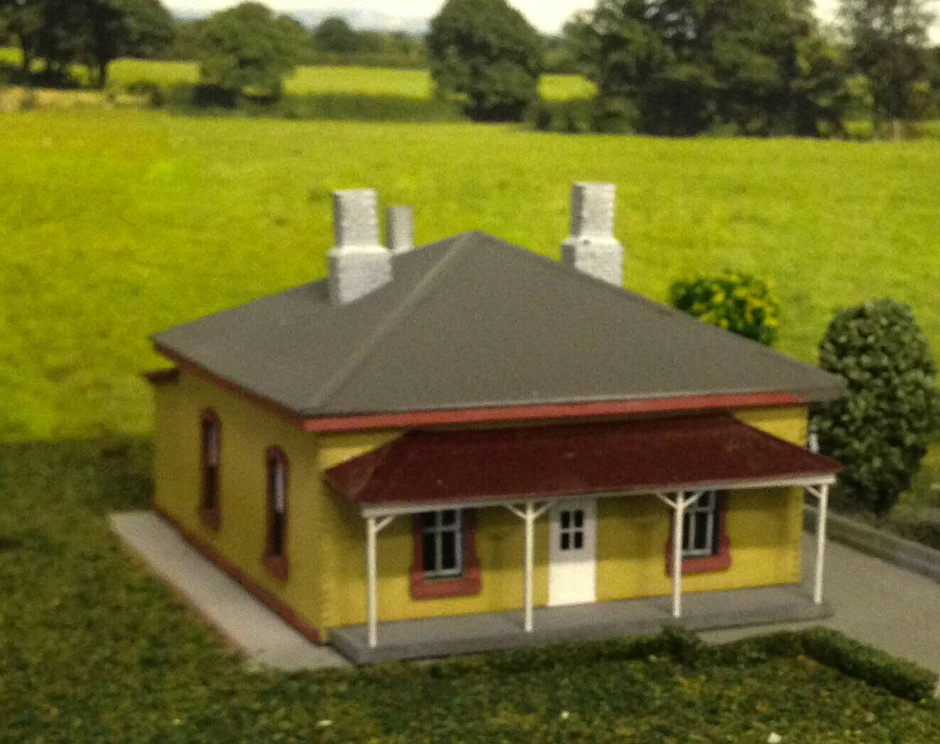 alta quaità NSWGR Bungendore Station Masters House Kit HO scale 1 1 1 87  consegna lampo
