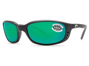 d4d791418684d Costa Del Mar Brine Matte Black   Green Mirror 580 Glass 580G - NEW ...