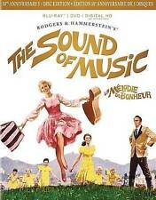 The Sound of Music (Blu-ray/DVD, 2015, 4-Disc Set, Canadian 50th Anniversary Ult
