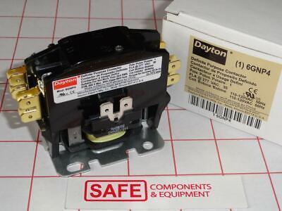DAYTON 2UTP7 240 VAC 40A Nonreversing Definite Purpose Contactor