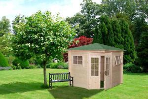 Fabulous Gartenhaus Modell 2555, 250x250cm, Fünfeck, 28mm stark, Bauhaus | eBay ZA56