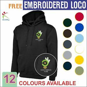 Personalised Custom Free Embroidered Hood Electrician Plumber Handyman Hoodie