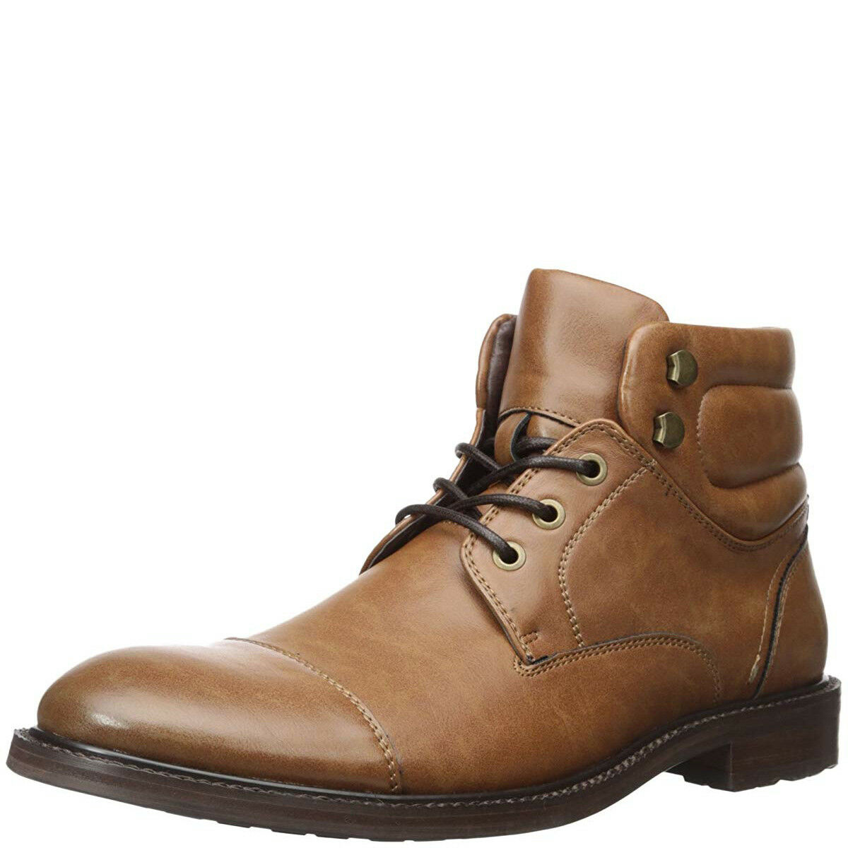 Kenneth Cole Unlisted mens Roll With It Chukka Stiefel Cognac braun 13 M MSRP 7...