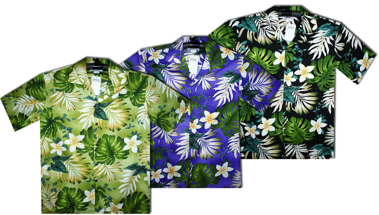 PLA Original Hawaiian Shirt Hawaiihemd New Flower Multi     | Feinbearbeitung