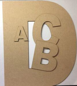 Mon ChéRi En Bois Suspendu Mdf Laser Cut Alphabet Arial Lettres & Chiffres, 6 Mm D'épaisseur Craft-afficher Le Titre D'origine Dans La Douleur