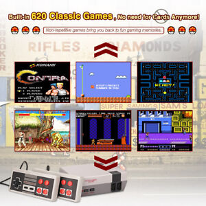 Retro Classic Family Tv Game Console Built In 620 Tv Video Games Us