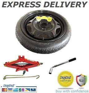 """Nissan Nota Ahorro De Espacio Rueda de Repuesto 14/"""" y Kit de herramientas"""