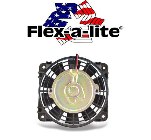 "Flexalite 108 Compact Auxiliary Electric Fan 10/"" Reversible 800 CFM ATV UTV"