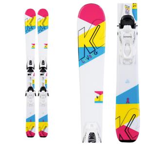 K2 luv bug esquí fdt Jr. 4,5 niñas atadas - 2020 - 76 cm