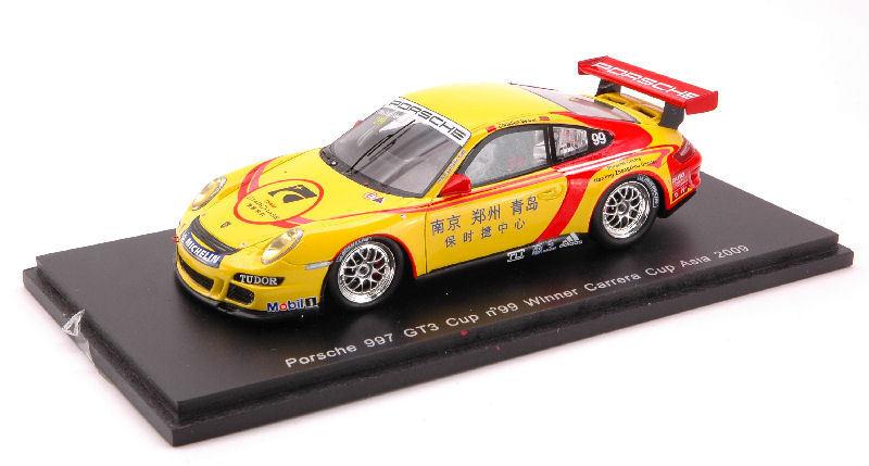 Porsche 997 Gt 3  99 Asia 2009 1:43 Model SPARK MODEL