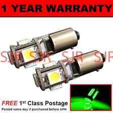BA9s T4W 233 CANBUS SENZA ERRORI GREEN 5 LAMPADE LUCI POSIZIONE LED X2 HID