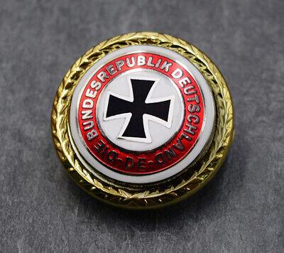 2cm German Army Iron Cross Pin Brooch Gold Badge Insignia Zur Erinnerung An 1870