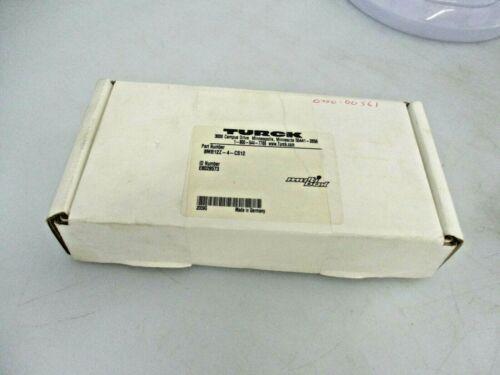 NEW TURCK 8 PORT SENSOR JUNCTION BOX ASSEMBLY 8MB12Z-4-CS12