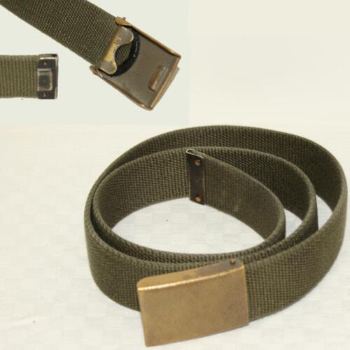 Armée tissu ceinture olive ou cuir ceinture BW armée//forces aériennes 3cm Large