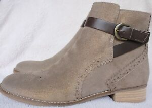 Clarks Netley Olivia taupe suede ankle Stiefel UK 5.5 5.5 5.5 EU 39 BNIB     730c69