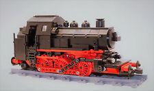 Custom BR89 Dampf Lok aus LEGO® Lok Eisenbahn Zug Steam Engine Neu