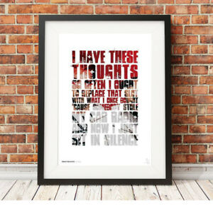 Image Is Loading Twenty One Pilots Car Radio Song Lyrics Poster