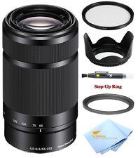 Sony E 55-210mm F4.5-6.3 Lens for Sony E-Mount Cameras (White Box) Bundle! New!