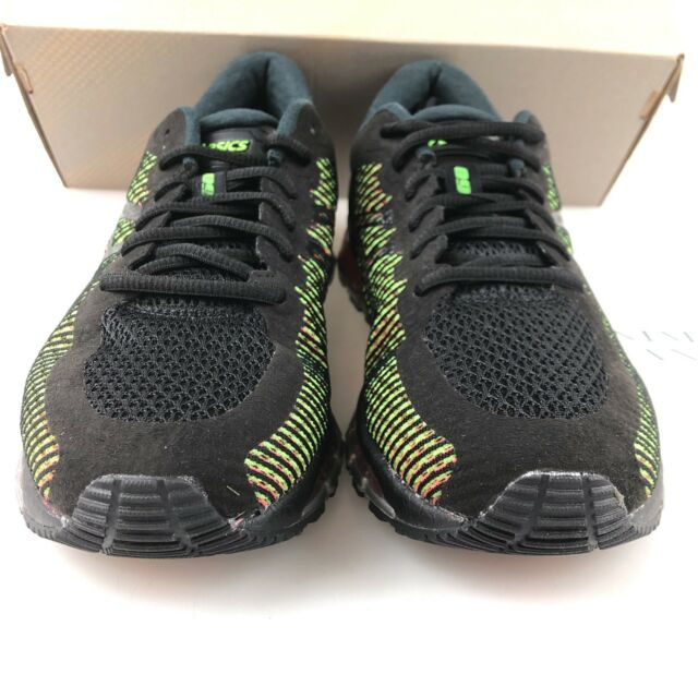 online store 8a475 8bbcb Mens ASICS GEL Quantum 360 Cm T6g1n 9001 Black/white/green Gecko Max  Cushioning 10