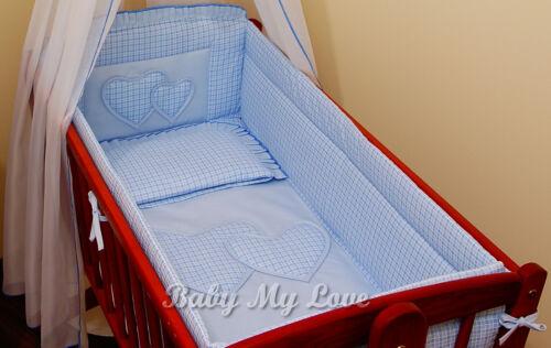 Duvet Cover//Pillow.. to fit baby swing crib//craddle 4 pcs bedding set //Duvet